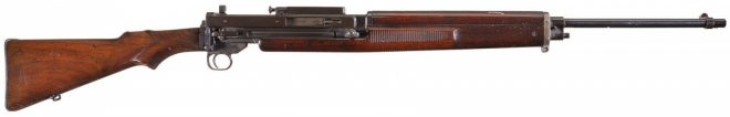 "Vickers-Berther ""Model 1919"" Semi-Automatic Rifle"