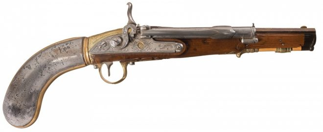 Air pistol 18th century