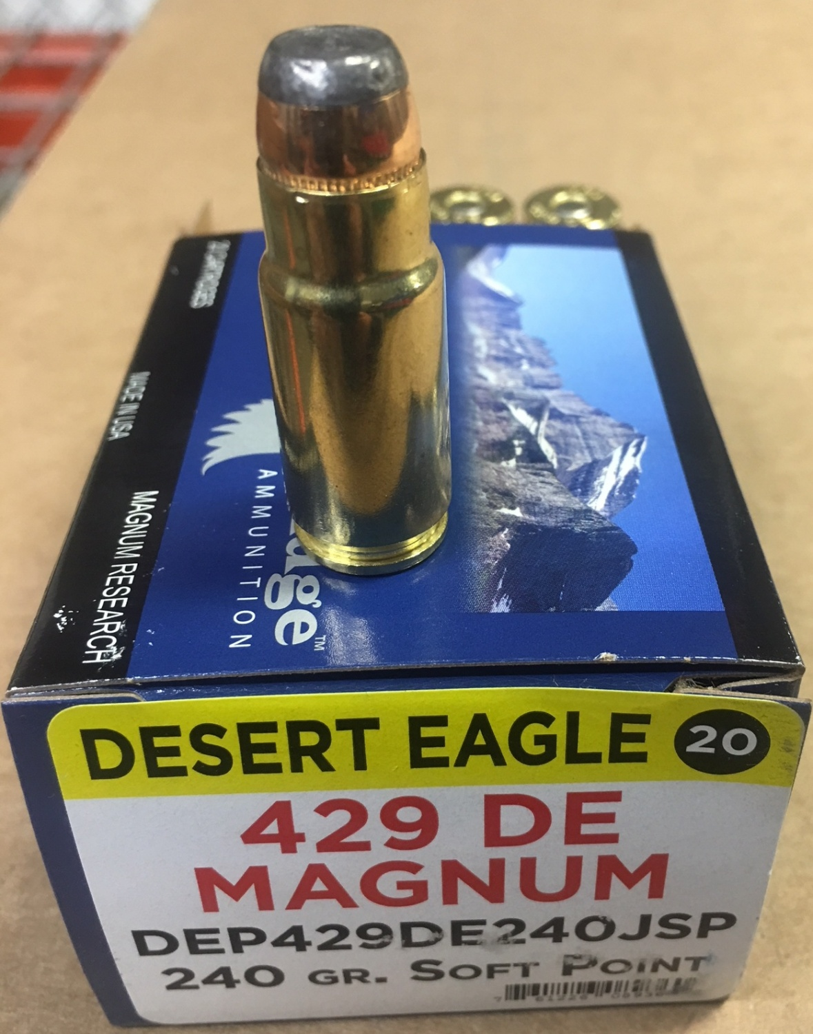 .429 DE - New Cartridge for Desert Eagle Pistol (2)
