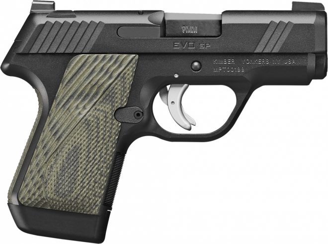 Kimber Introduces Striker Fired Pistol Kimber Evo Sp