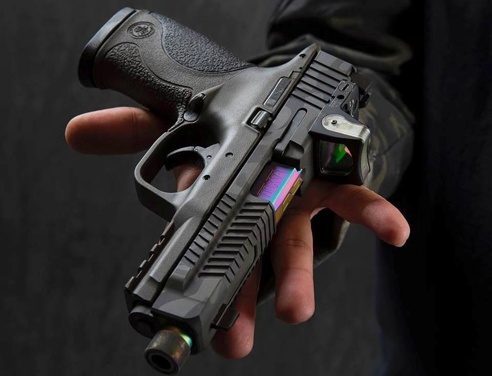 FAXON Patriot and Hellfire Slides for S&W M&P Pistols (2)