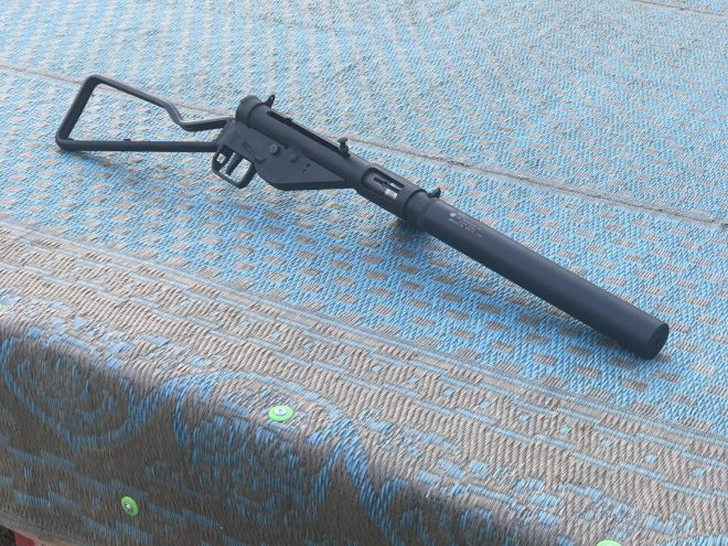 Integrally Suppressed Sten Suppressor Coming Soon From GSL