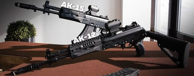 Improvements and New Features of AK-12 and AK-15 Rifles (1)