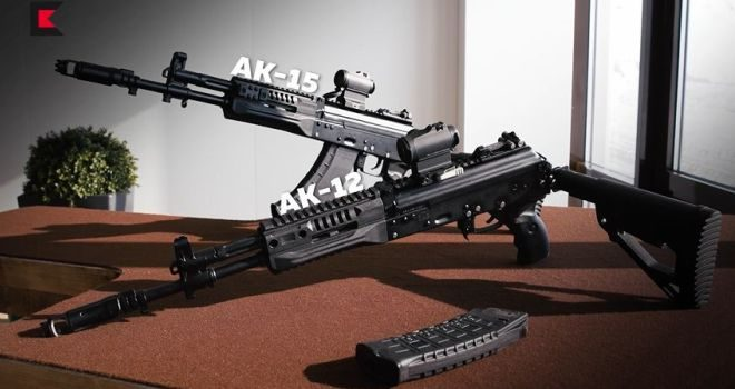 Design Improvements and New Features of AK-12 and AK-15