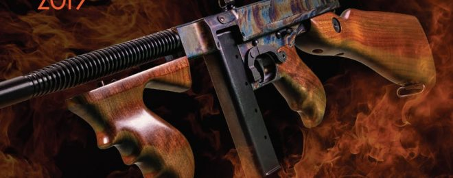 Case Hardened Tommy Gun