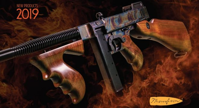 bc9aaf990 NEW Thompson (Auto Ordnance) Case Hardened Tommy GunThe Firearm Blog