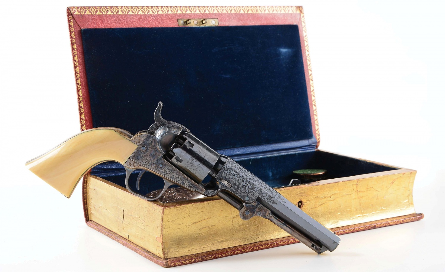 Top 5 Most Expensive Guns Sold in the Past MORPHY Auction Book-Case Revolver (8)