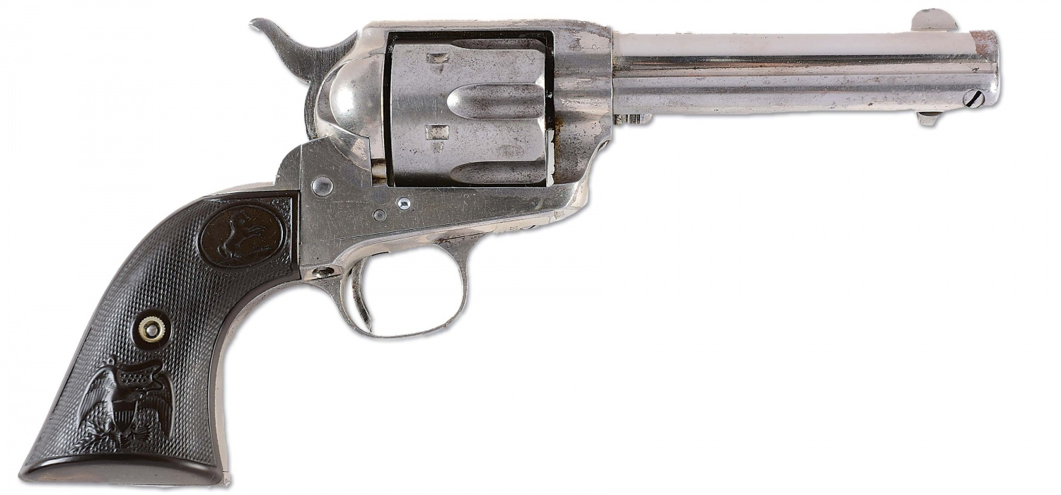 Top 5 Most Expensive Guns Sold in the Past MORPHY Auction Wyatt Earp (1)