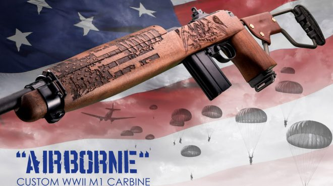 3ef6bc8f71bf97 Auto Ordnance in conjunction with Outlaw Ordnance is releasing another  one-of-a-kind firearm with their NEW Airborne M1 Carbine. Auto Ordnance and  Outlaw ...