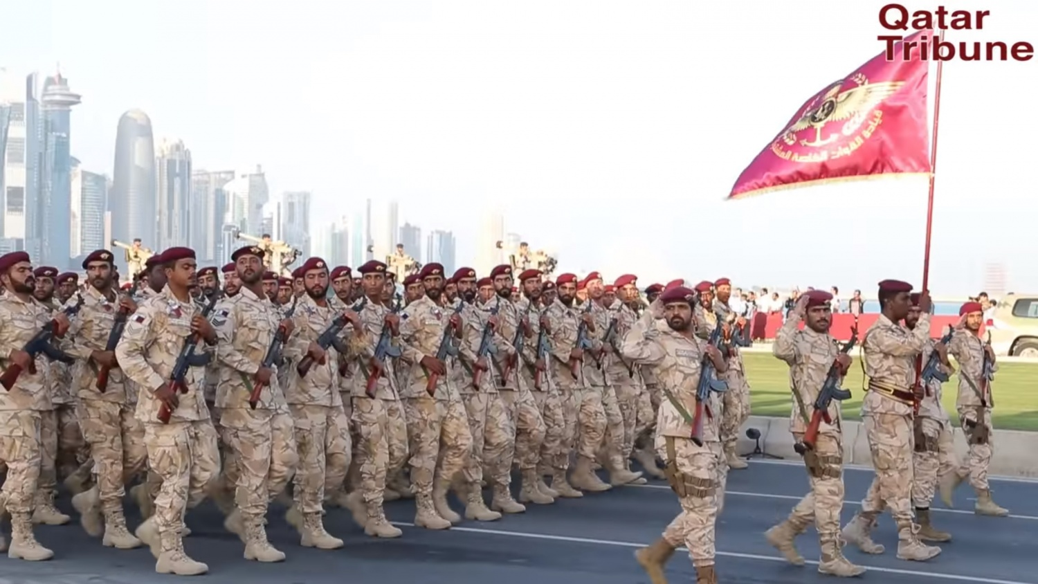 Photo credit Qatar Tribune https://www.youtube.com/watch?v=ckTt-gItdm4