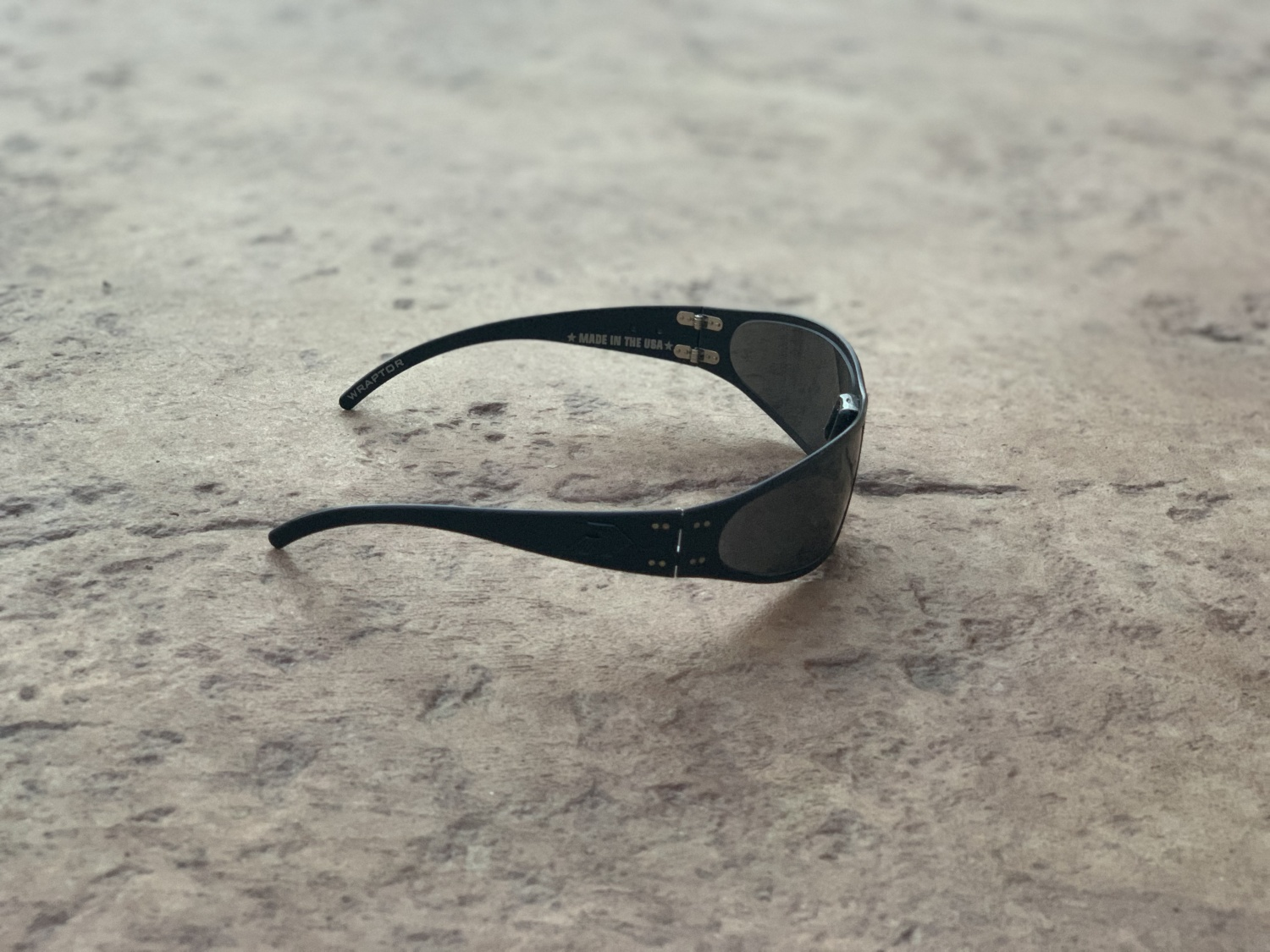 Side view of the Optimized Polarized on the Wraptors.