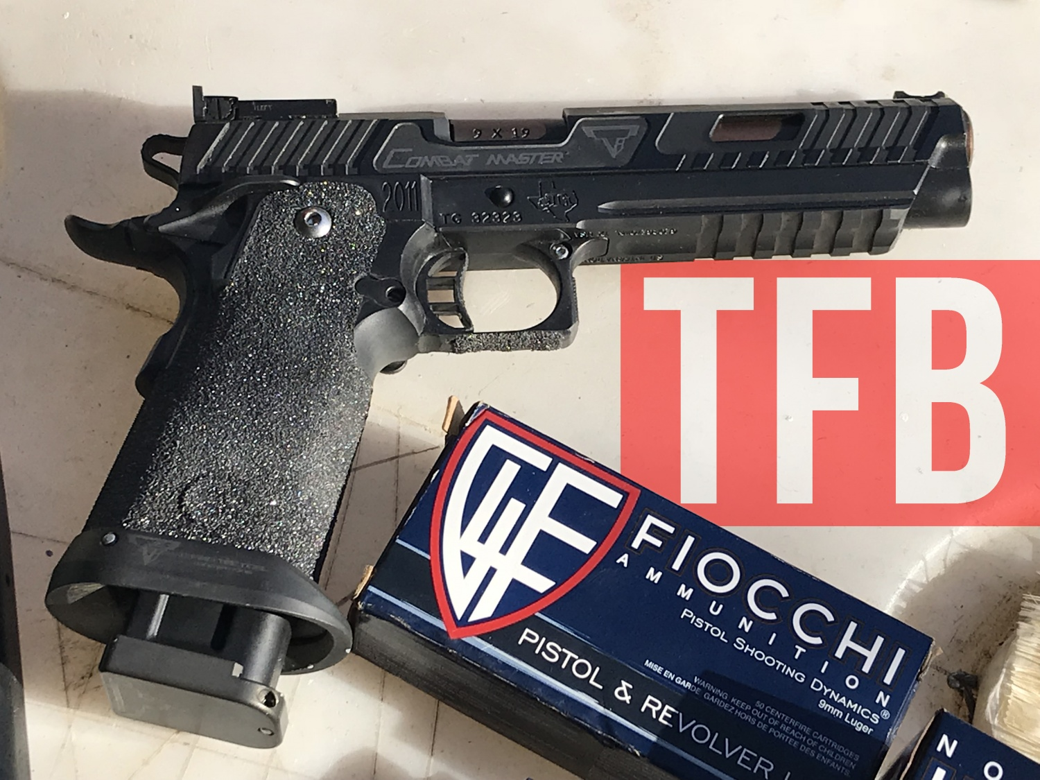 John Wick 3 Pistol Announced Taran Tactical Sti 2011 Combat Master The Firearm Blog