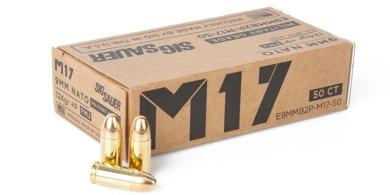 New SIG Sauer M17 9mm +P Ammunition Line (3)