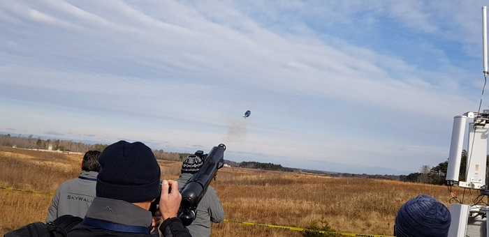 SkyWall100 Anti-Drone System Was Demonstrated to US Marine Corps (1)