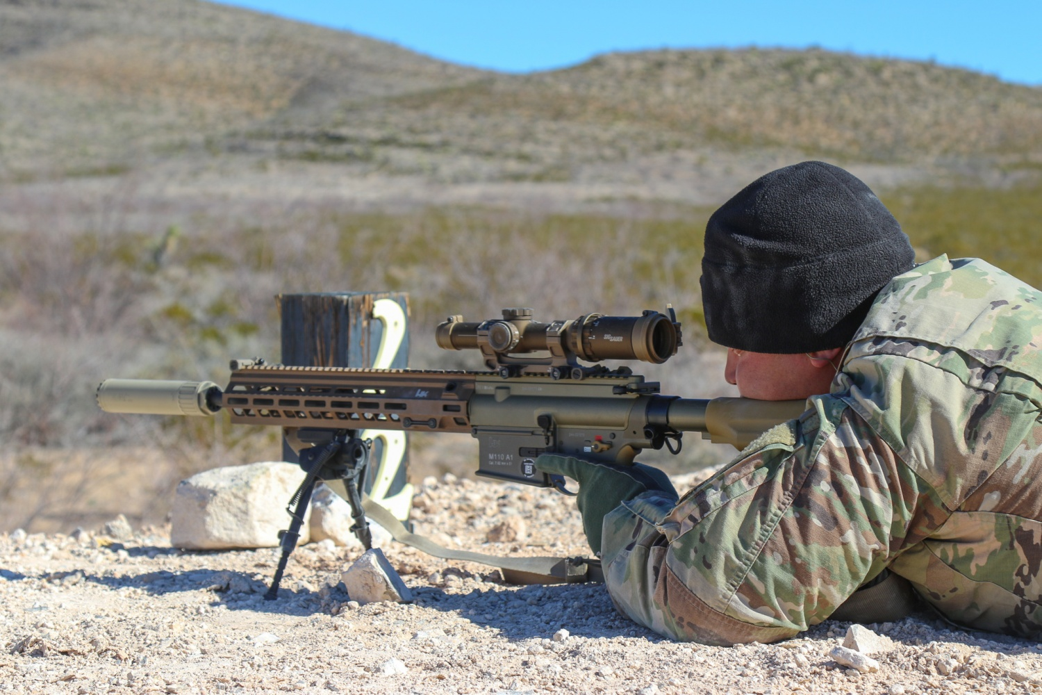 us army testing the new squad designated marksman rifle
