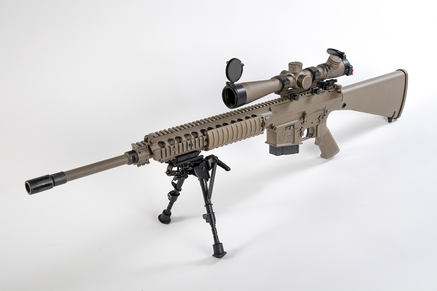 POTD: The M110 Semi-Automatic Sniper System -The Firearm Blog M110 Sniper Rifle Suppressed