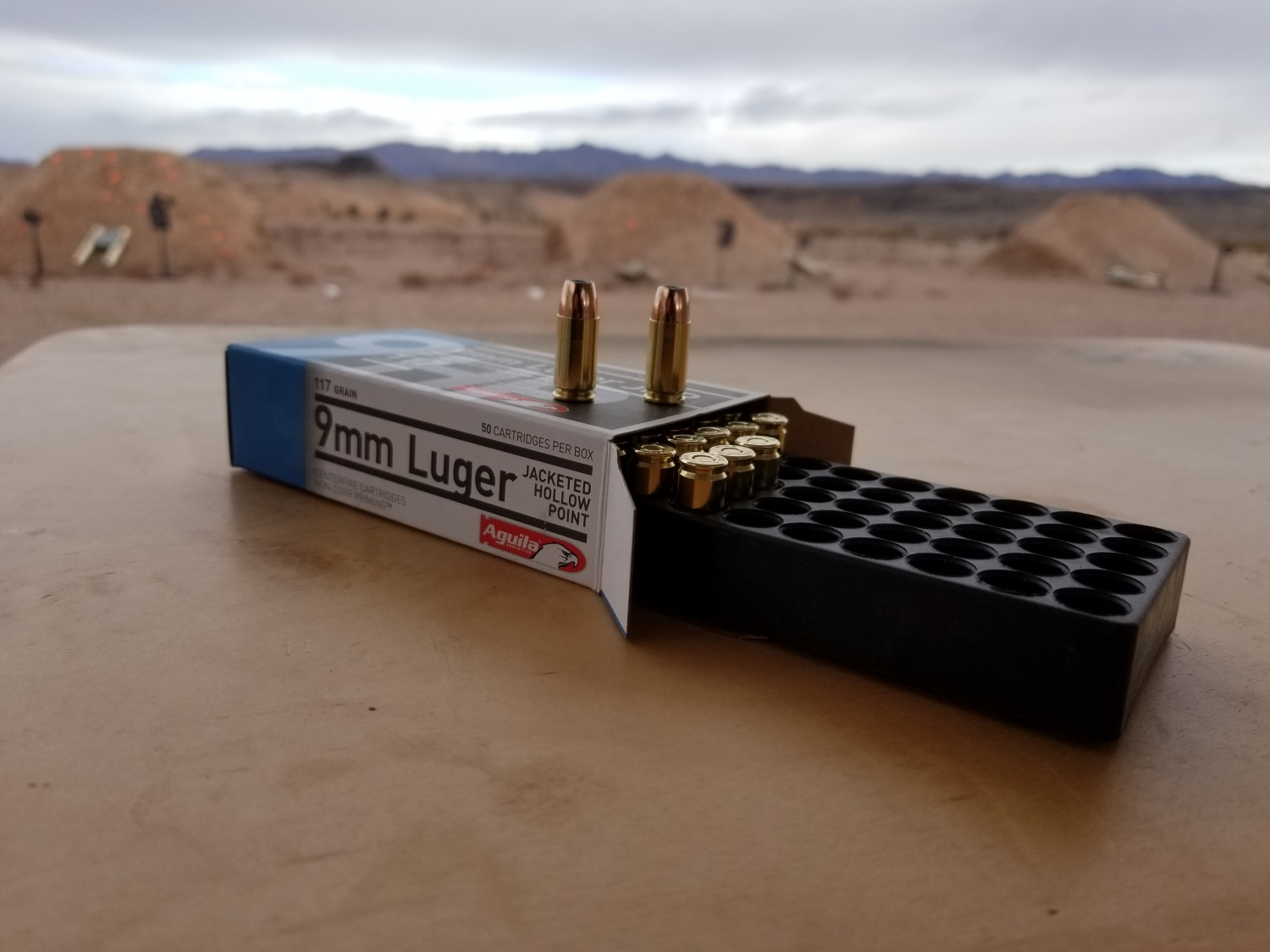 9MM LUGER 117 GRAIN JHP / JACKETED HOLLOW POINT
