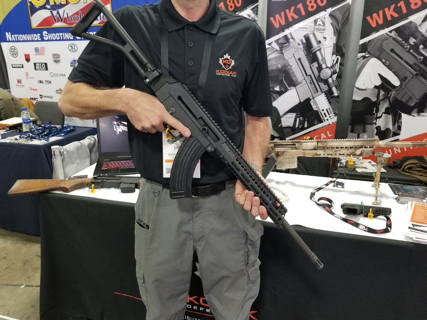 SHOT 2019] New WK180-C rifle and sporting VZ58 from Kodiak