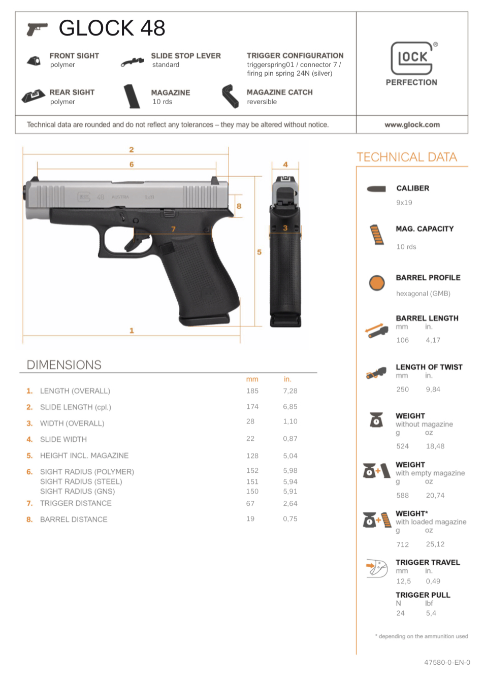 New Glock 43x Silver Slimline And Glock 48 Roll Out The Firearm Blog