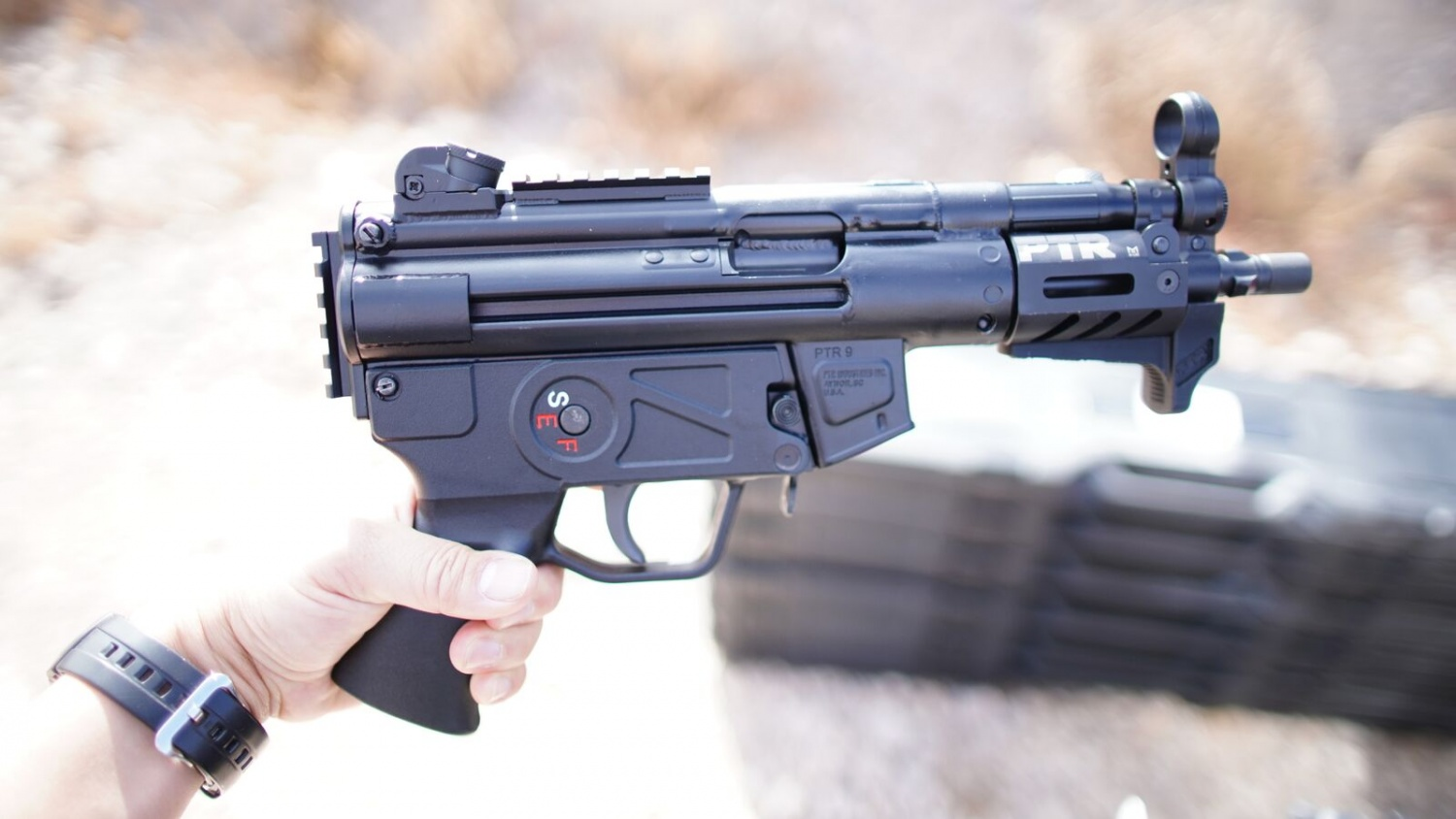 Ptr Goes Big And Small New 9kt And 9r Mp5 Style Guns The Firearm Blog