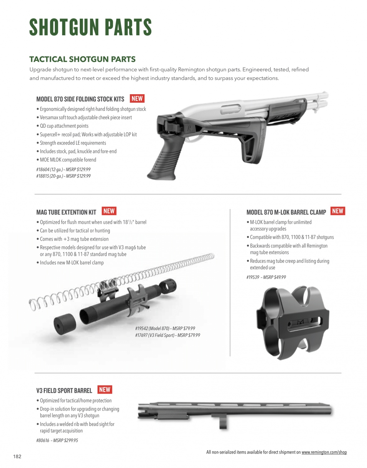 JUST RELEASED: 2019 Remington And AAC Product Catalogs -The
