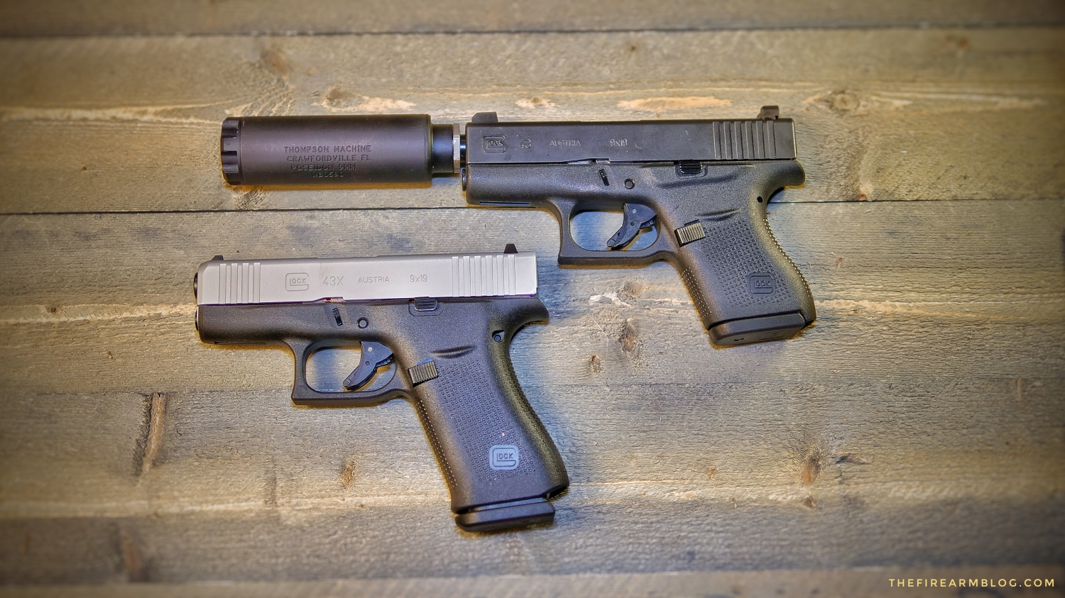 New GLOCK 43X (Silver Slimline) and GLOCK 48 Roll Out -The