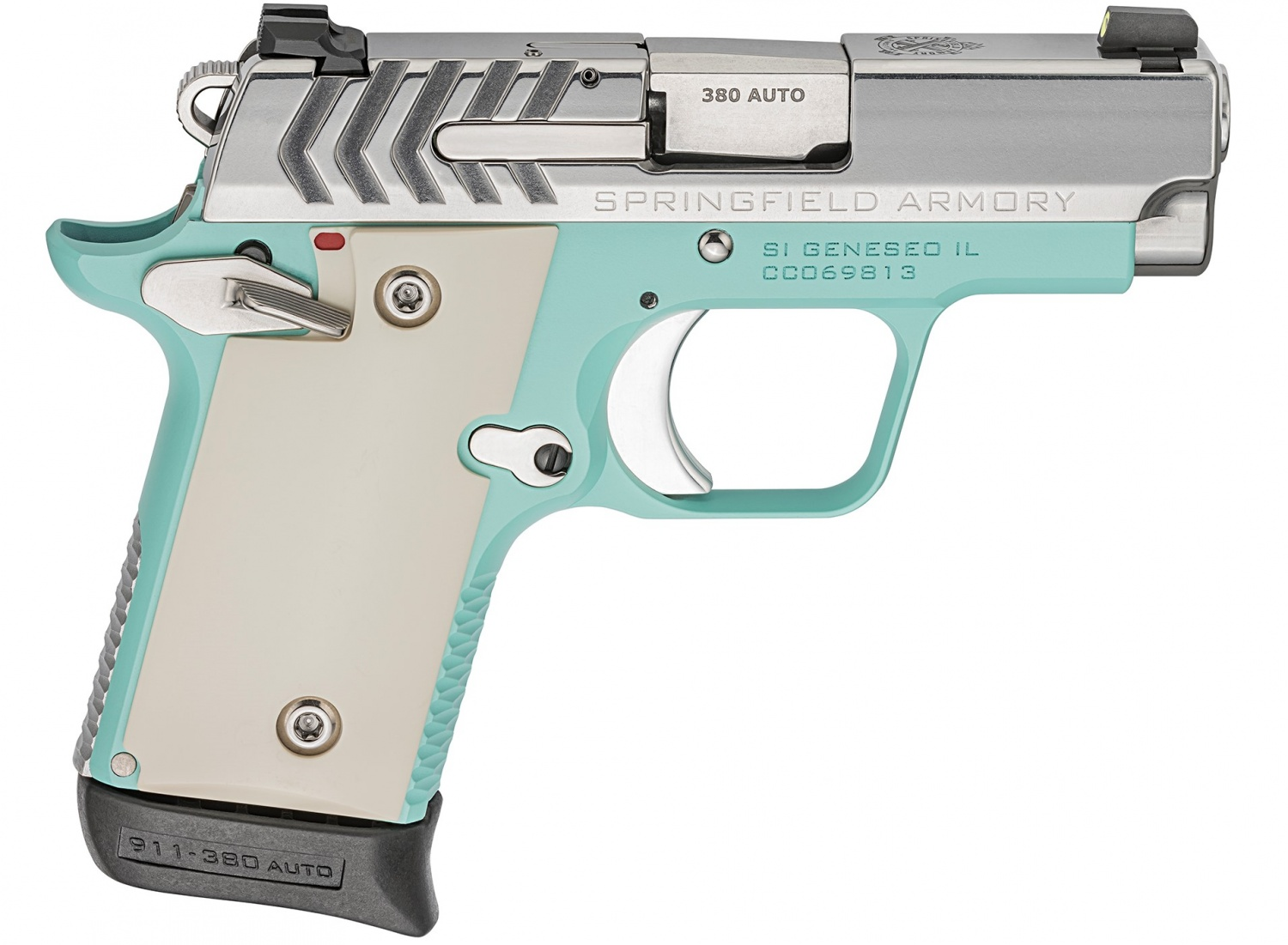 Colors Galore! NEW Springfield Armory 911 380 ACP Variants for