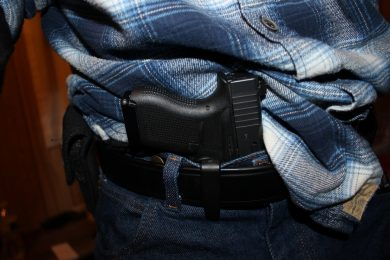 VanGuard 2 and Glock 43 on body carry