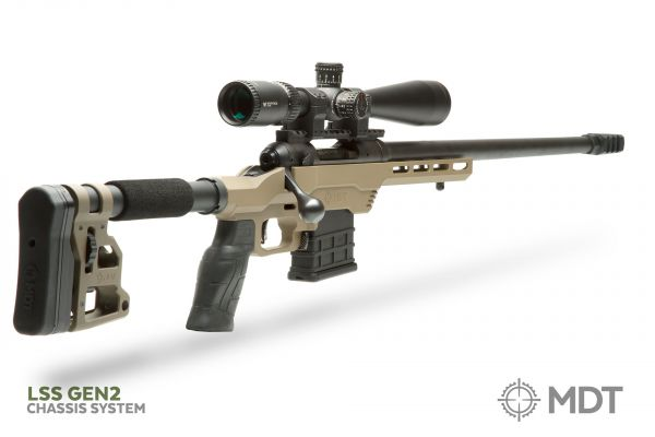 MDT Releases Second Generation LSS Chassis -The Firearm Blog