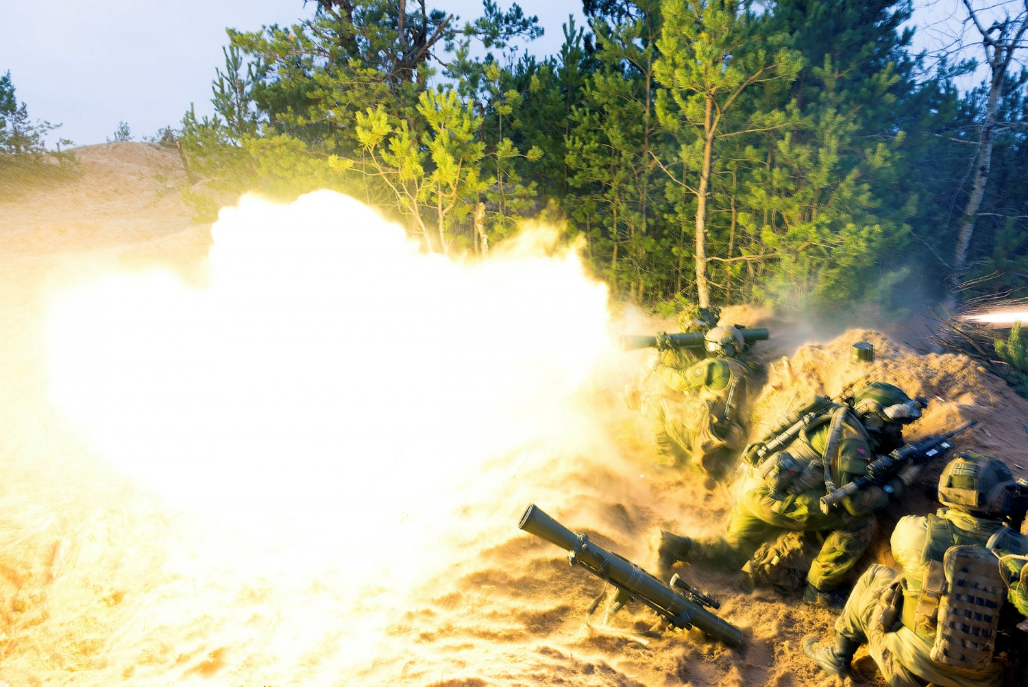 POTD: Live-fire with the 84mm M2 Carl Gustaf