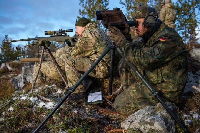 German Army Modernizing their AI Sniper Rifles - G22 becomes G22A2