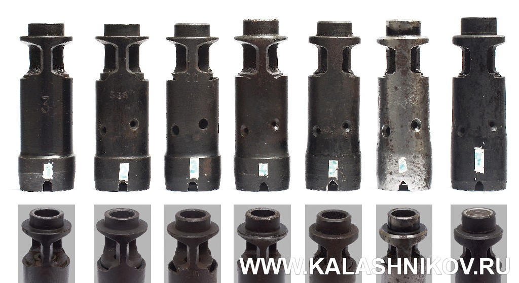 History and Evolution of Soviet/Russian AK Muzzle Devices -The