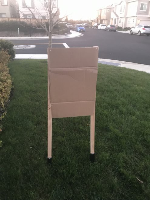 A friend of mine wanted to build some target stands for holding up cardboard targets. Sort of like what you see in USPSA, IPCS or IDPA.
