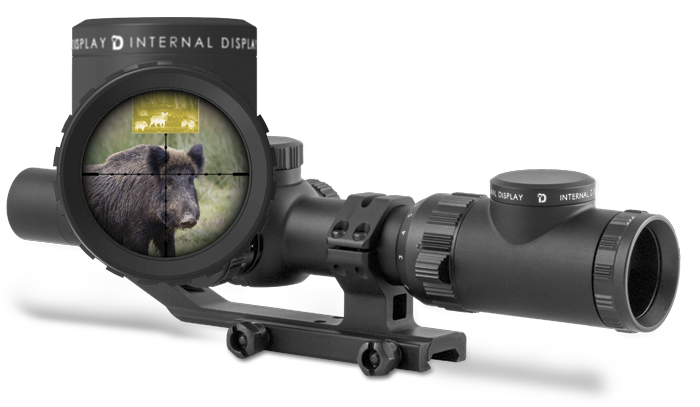 Sector Optics G1T2 System - Scope with Bult-in Screen (1)