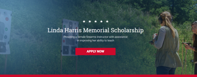 Linda Harris Memorial Scholarship Banner