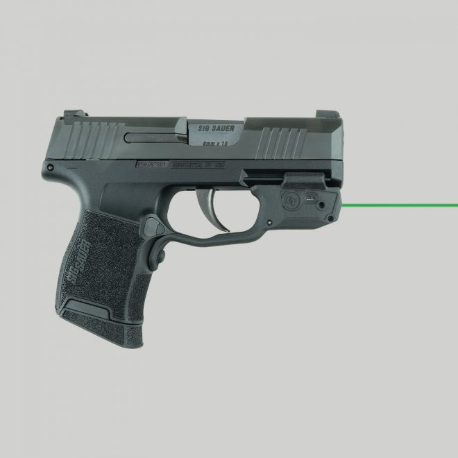 Crimson Trace's LG-442 Series Laser Aiming Devices For Sig P365 -The