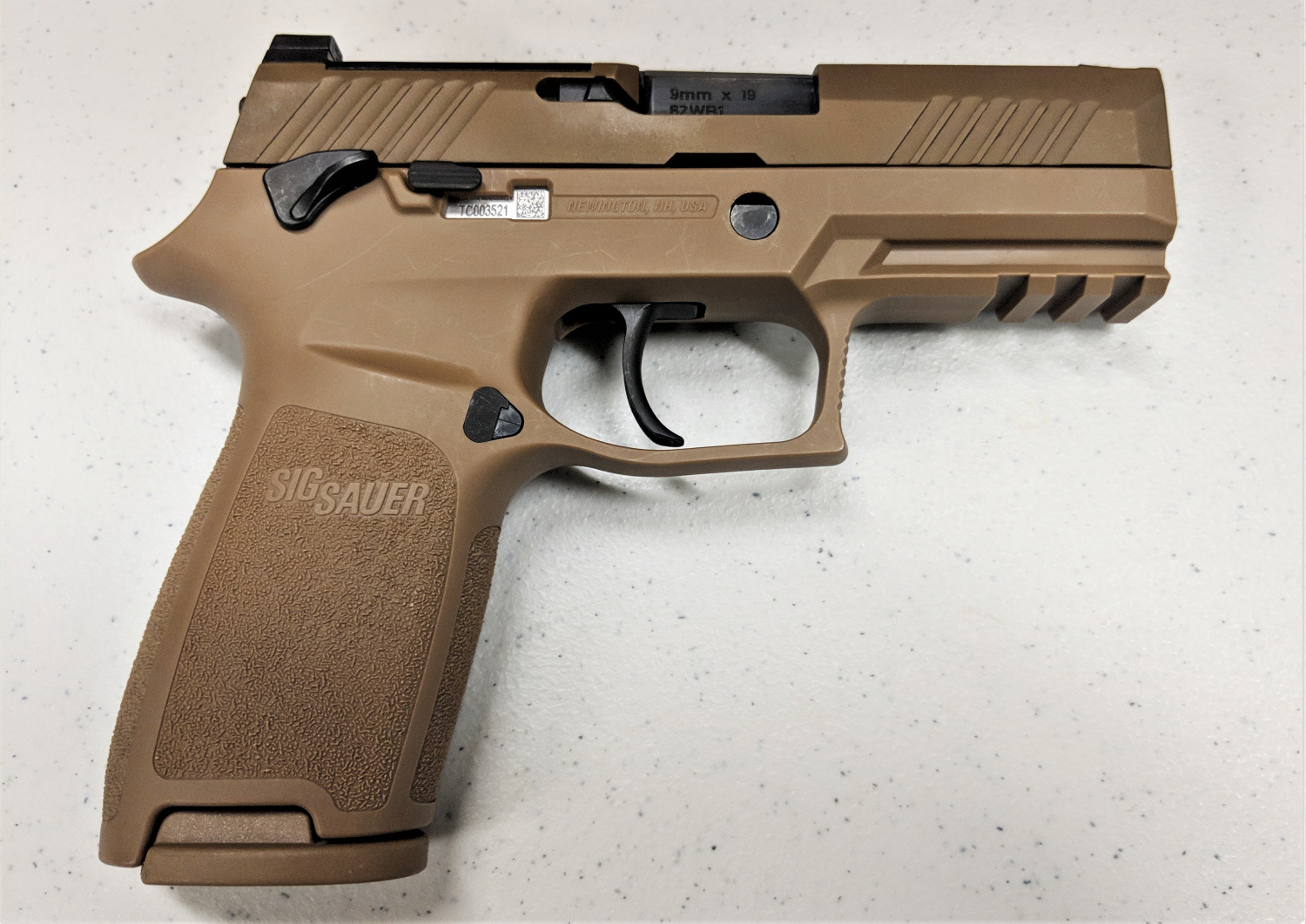 USAF Continues Security Forces Roll-out of the M18 Pistol -