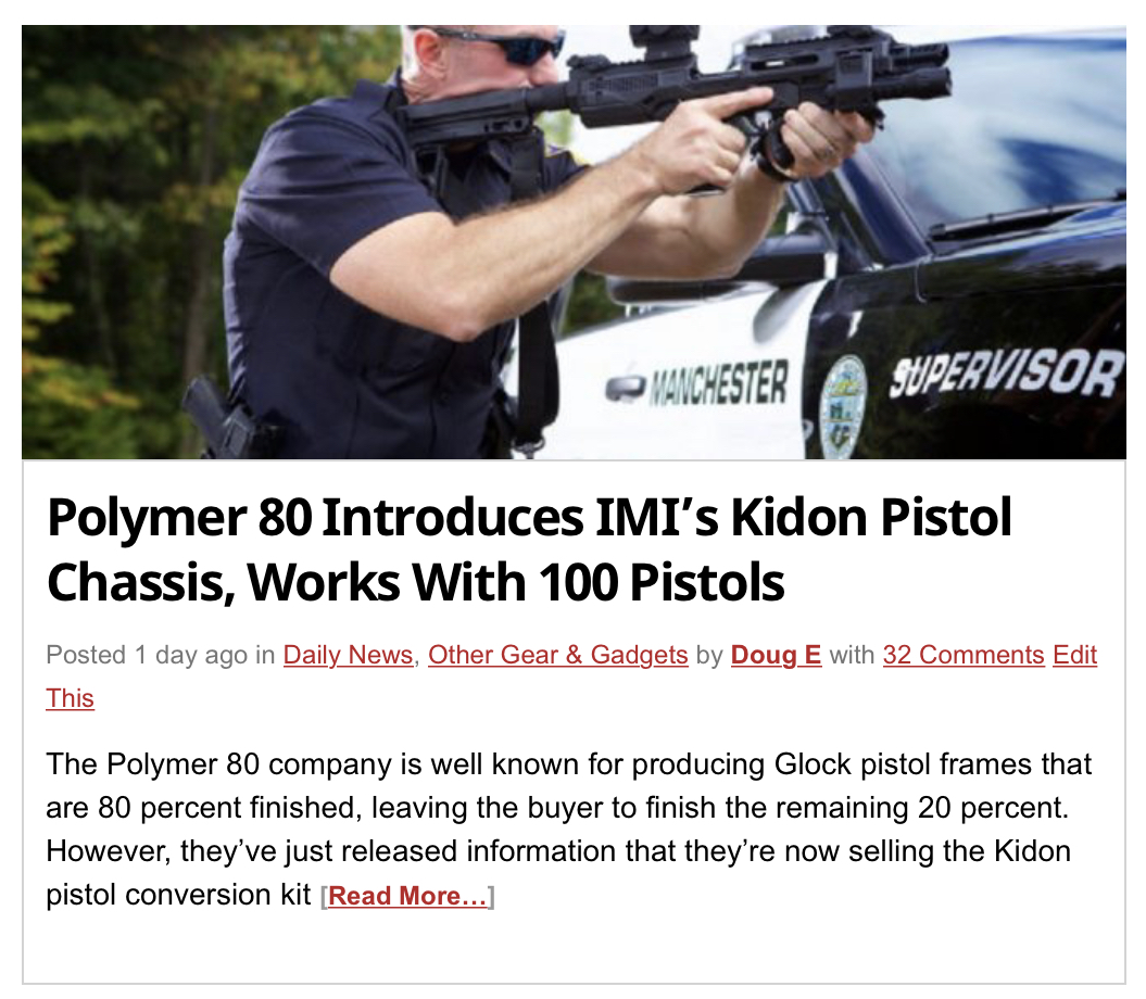 https://www.thefirearmblog.com/blog/2019/03/01/polymer-80-introduces-imis-kidon-pistol-chassis-works-with-100-pistols/