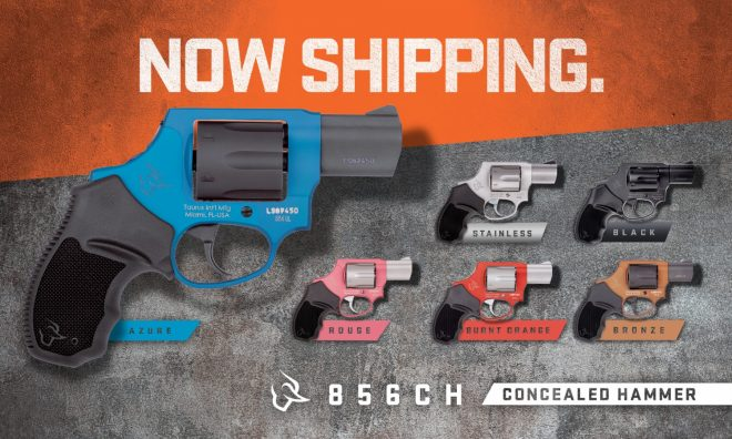 Taurus Introduces New 856 Concealed Hammer Models -The Firearm Blog