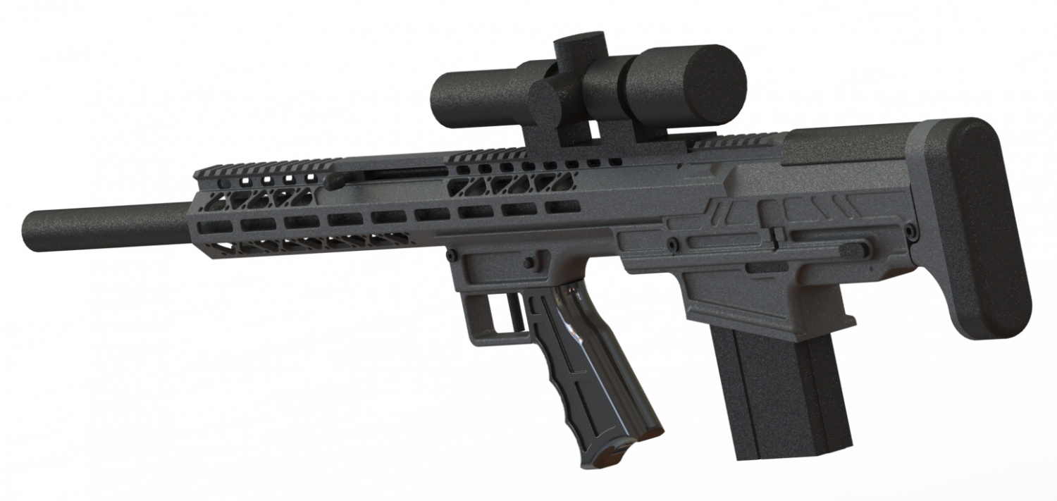 FIMS Firerms Staright Pull .308 Bullpup Rifle (6)