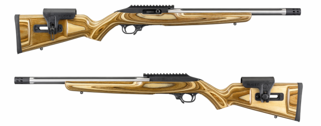 New RUGER Custom Shop 1022 Competition Rifle (main)