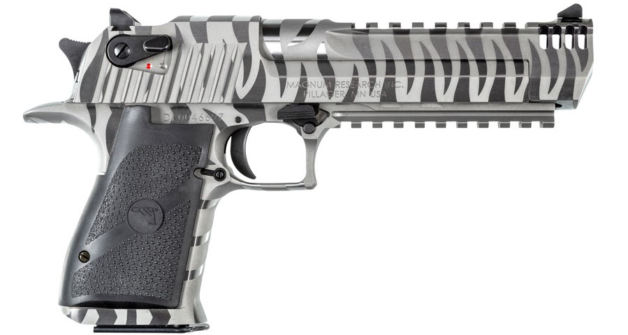 Magnum Research Introduces The New White Tiger Desert Eaglethe