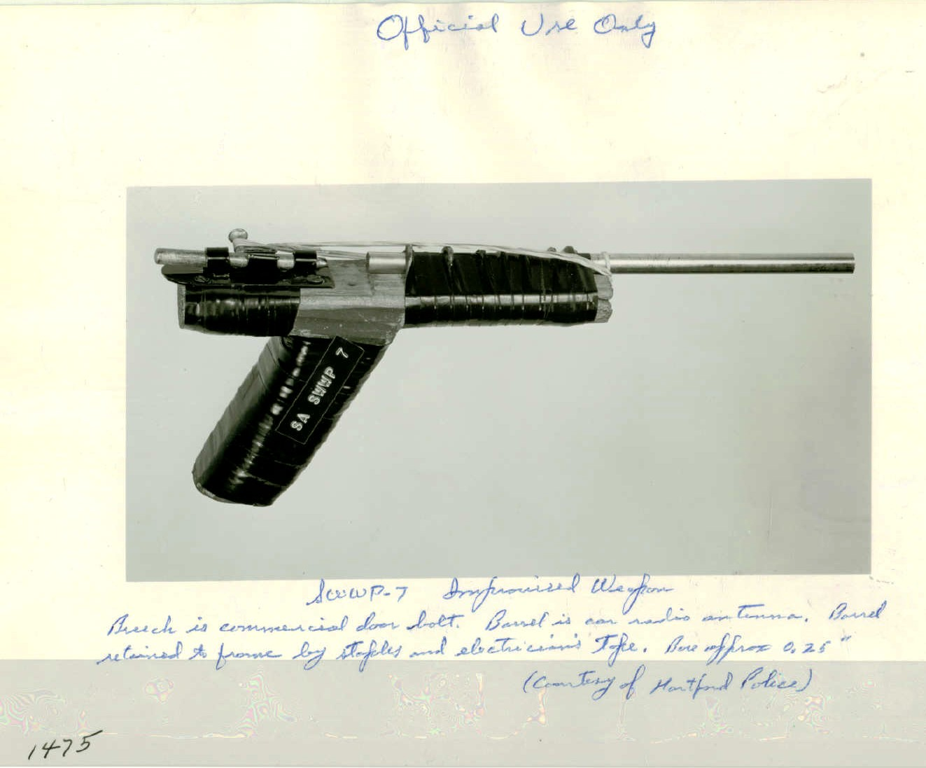 Improvised Firearms (Zip Guns) - Like Grandpa Used to Make -The