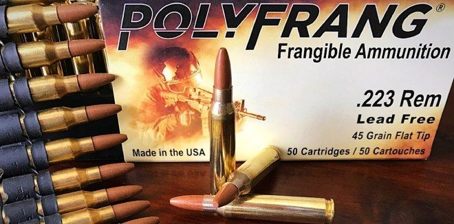 10,000 Rounds of 5.56 PolyFrang Frangible Ammo Cause ZERO Barrel Wear (1)