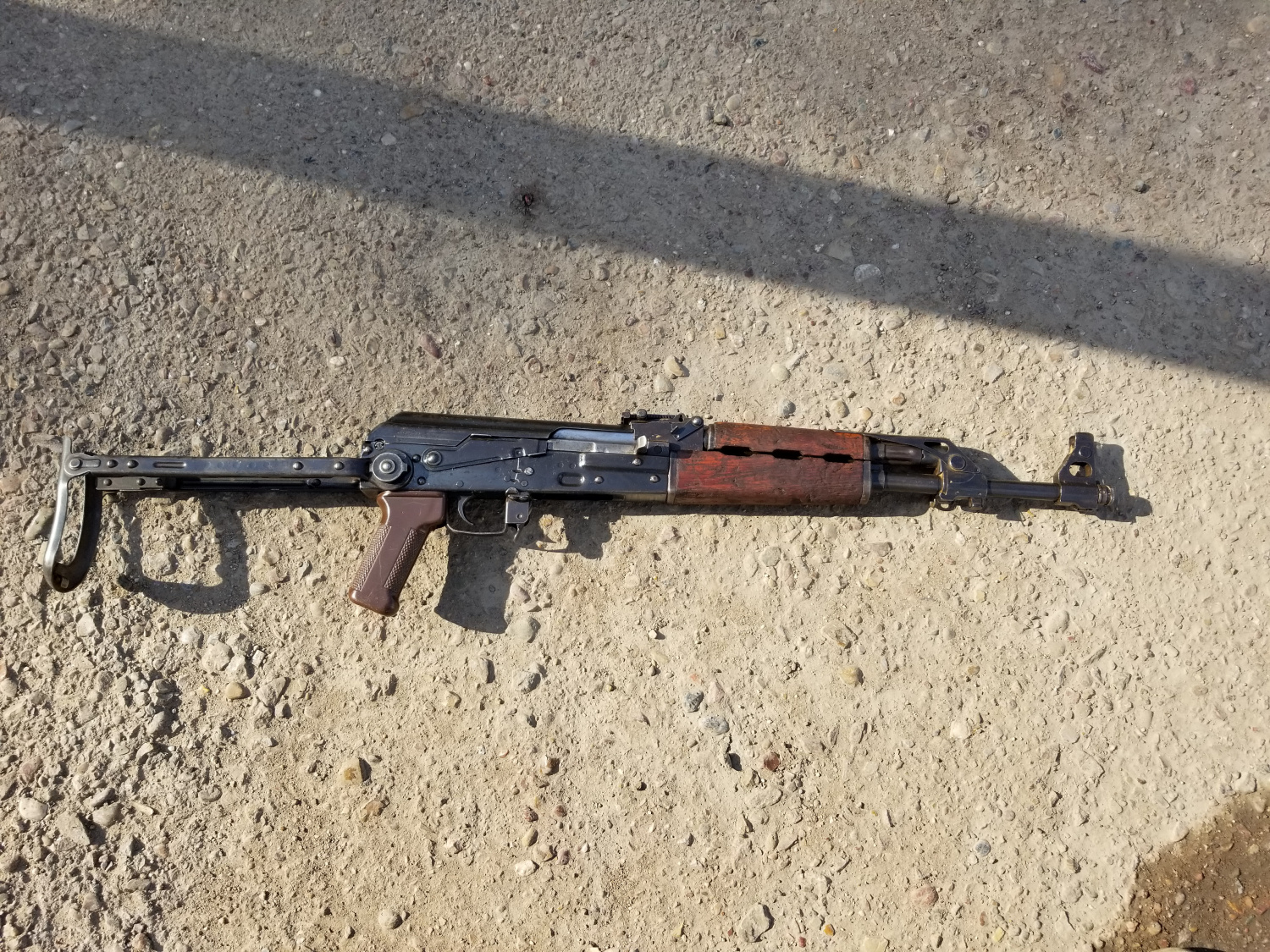 Zastava M70AB2 after refinishing