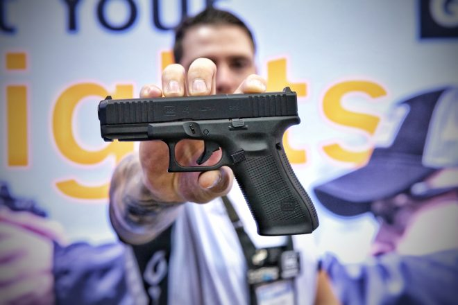 NRA 2019] HANDS ON - GLOCK G45 MOS & Build Your Own GLOCK