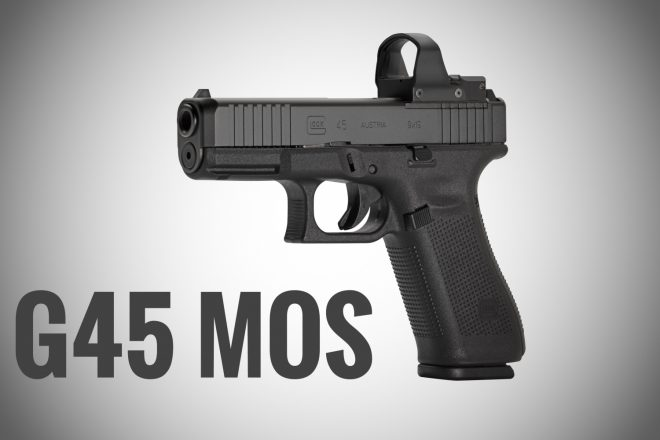 NRA 2019] NEW GLOCK G45 MOS Optic-Ready Crossover -The