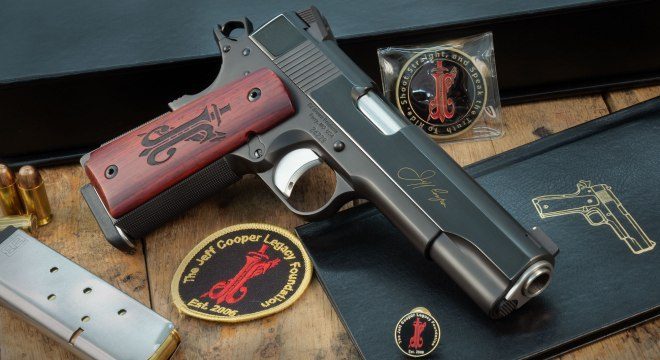 Ed Brown Limited Edition JEFF COOPER Commemorative Pistol (1)