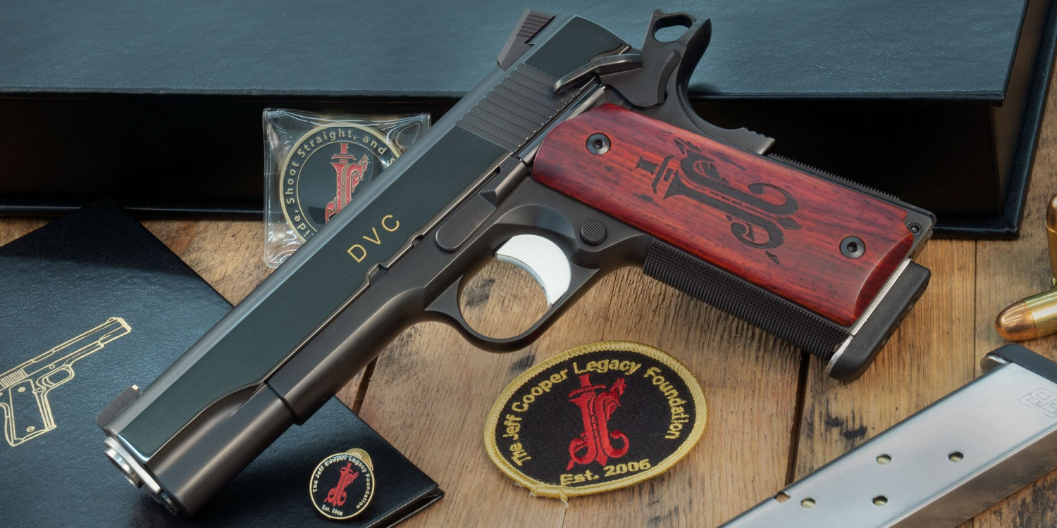 Ed Brown Limited Edition JEFF COOPER Commemorative Pistol (2)