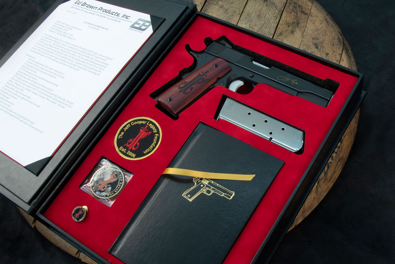 Ed Brown Limited Edition JEFF COOPER Commemorative Pistol (3)